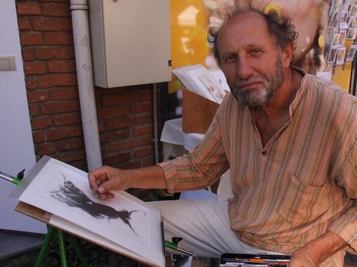 Over de schilder, kunstenaar Jeroen Bijl