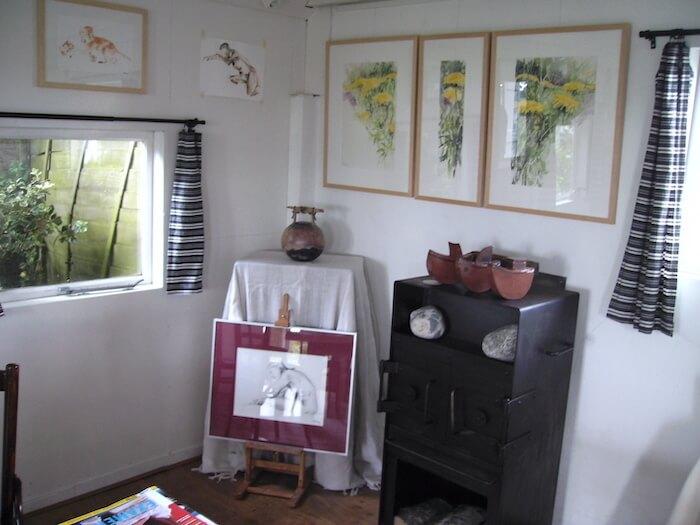 Het Atelier van Jeroen Bijl in Ommen